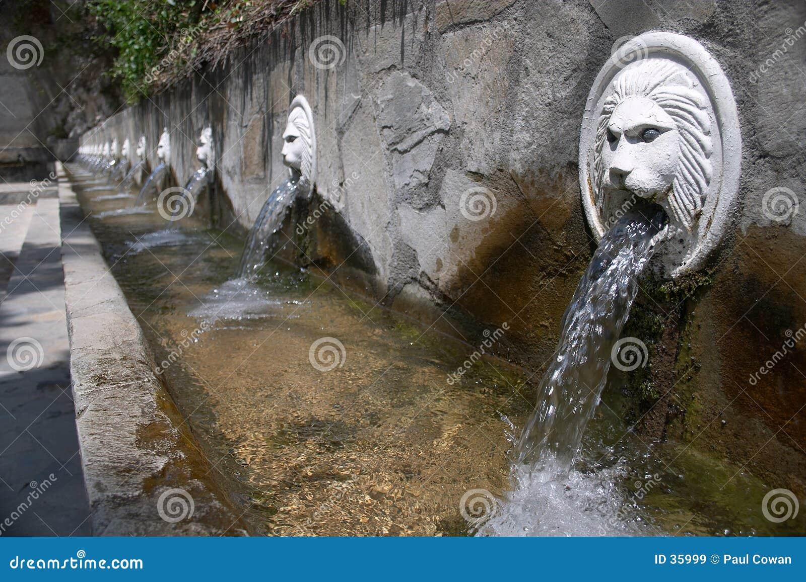 De fonteinen van Spili