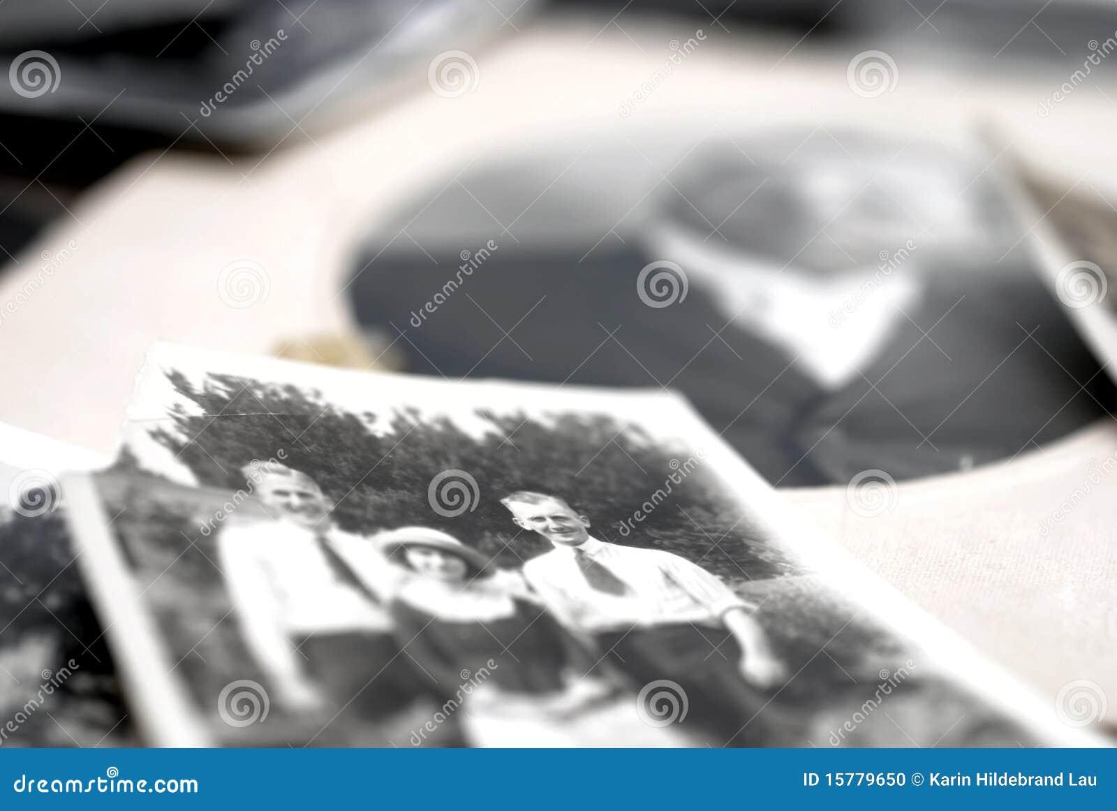 De Foto s van de familie