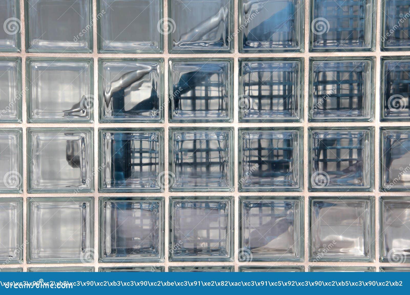 Muur van glasblokken stock fotografie   afbeelding: 30193522