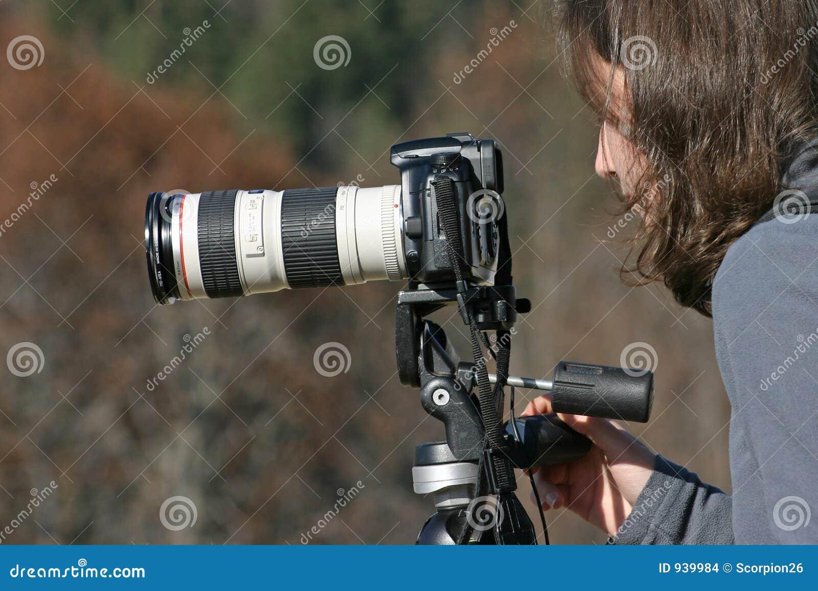 De fotograaf van de aard