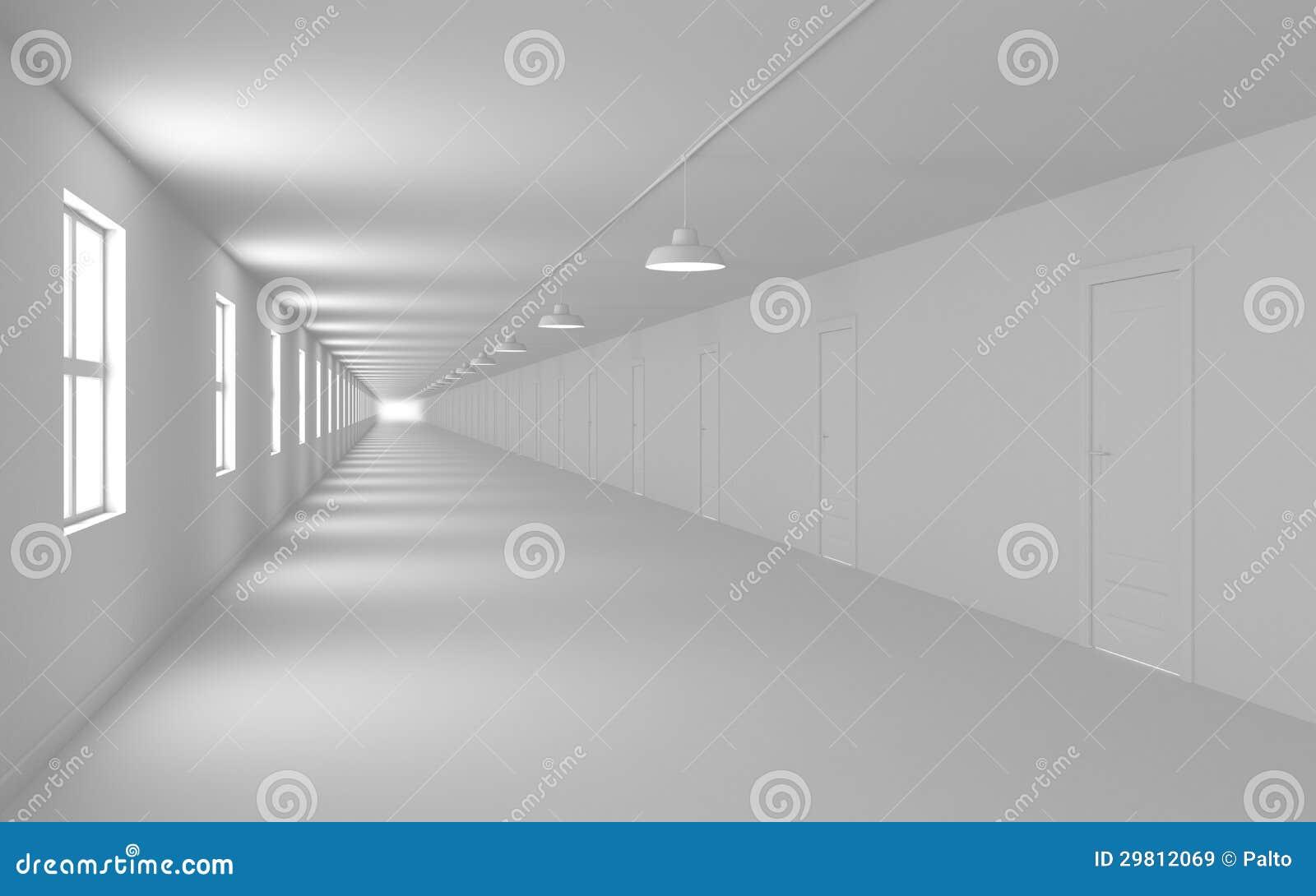 De gang van de oneindigheid stock illustratie afbeelding 29812069 - Deco van de gang ...
