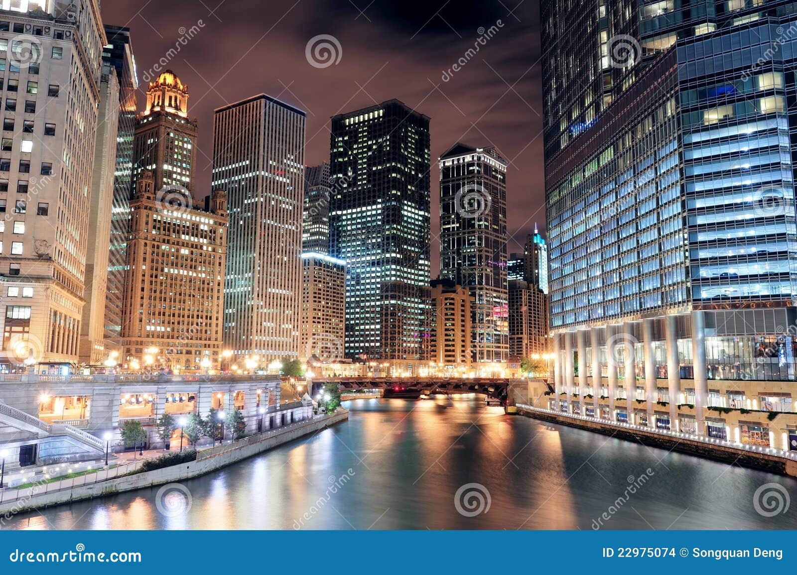 De Gang van de Rivier van Chicago