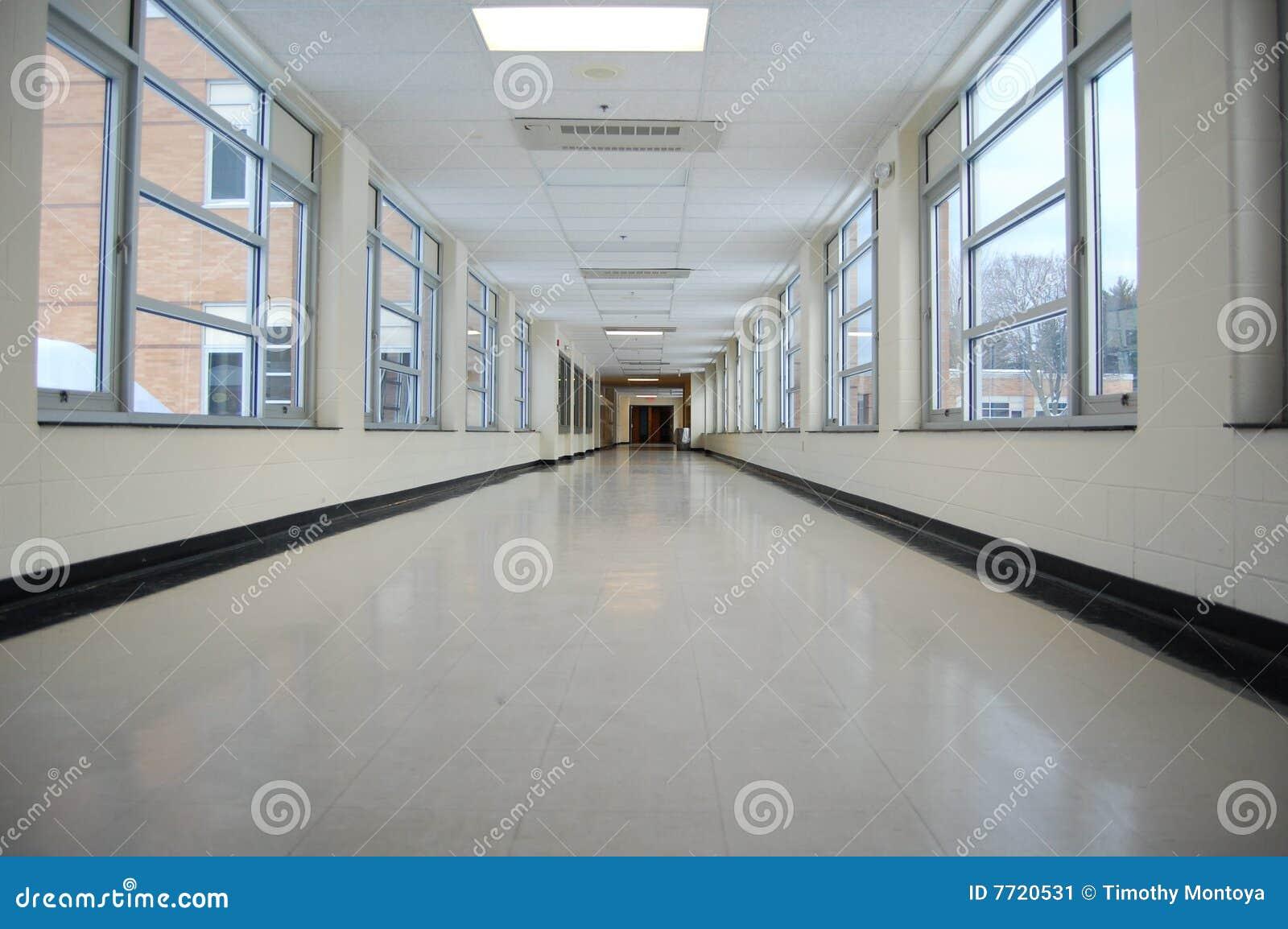 De gang van de school stock afbeelding beeld 7720531 - Een gang ...