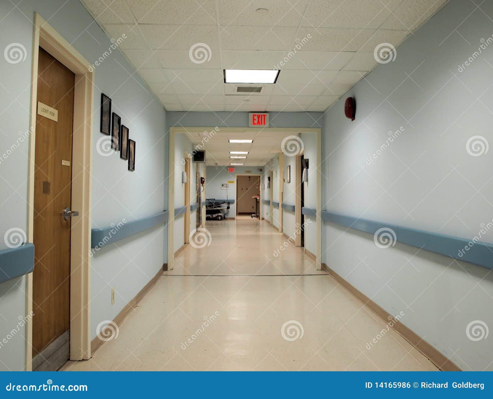 De gang van het ziekenhuis stock foto afbeelding bestaande uit ruimte 14165986 - Deco van de gang ...