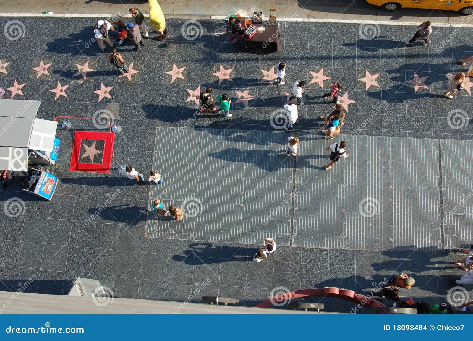De gang van hollywood van bekendheid van een balkon redactionele stock afbeelding afbeelding - Deco van de gang ...