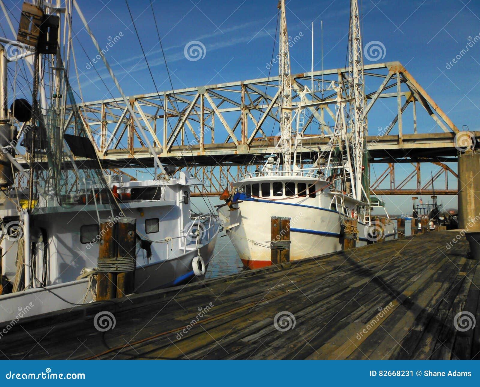 De Garnalenboten van Louisiane