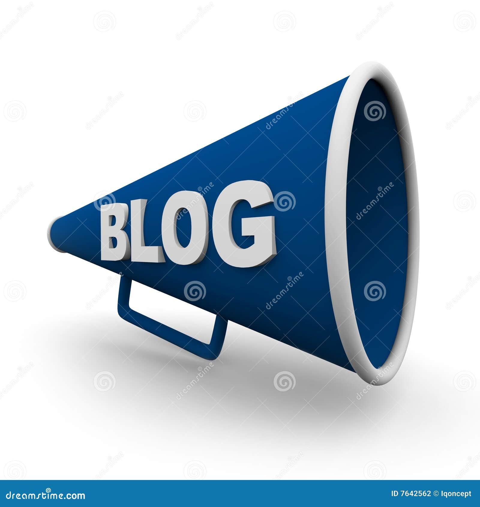 De Geïsoleerdea Megafoon van Blog -