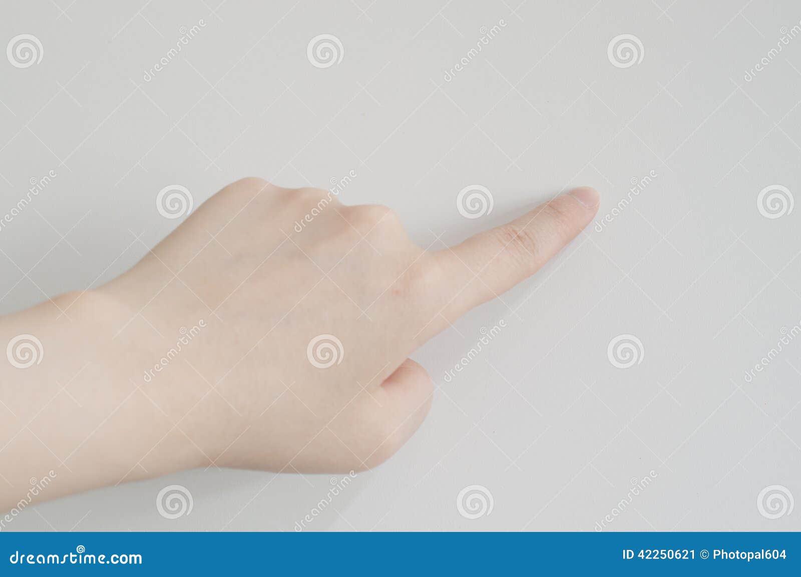De gebaren van de hand