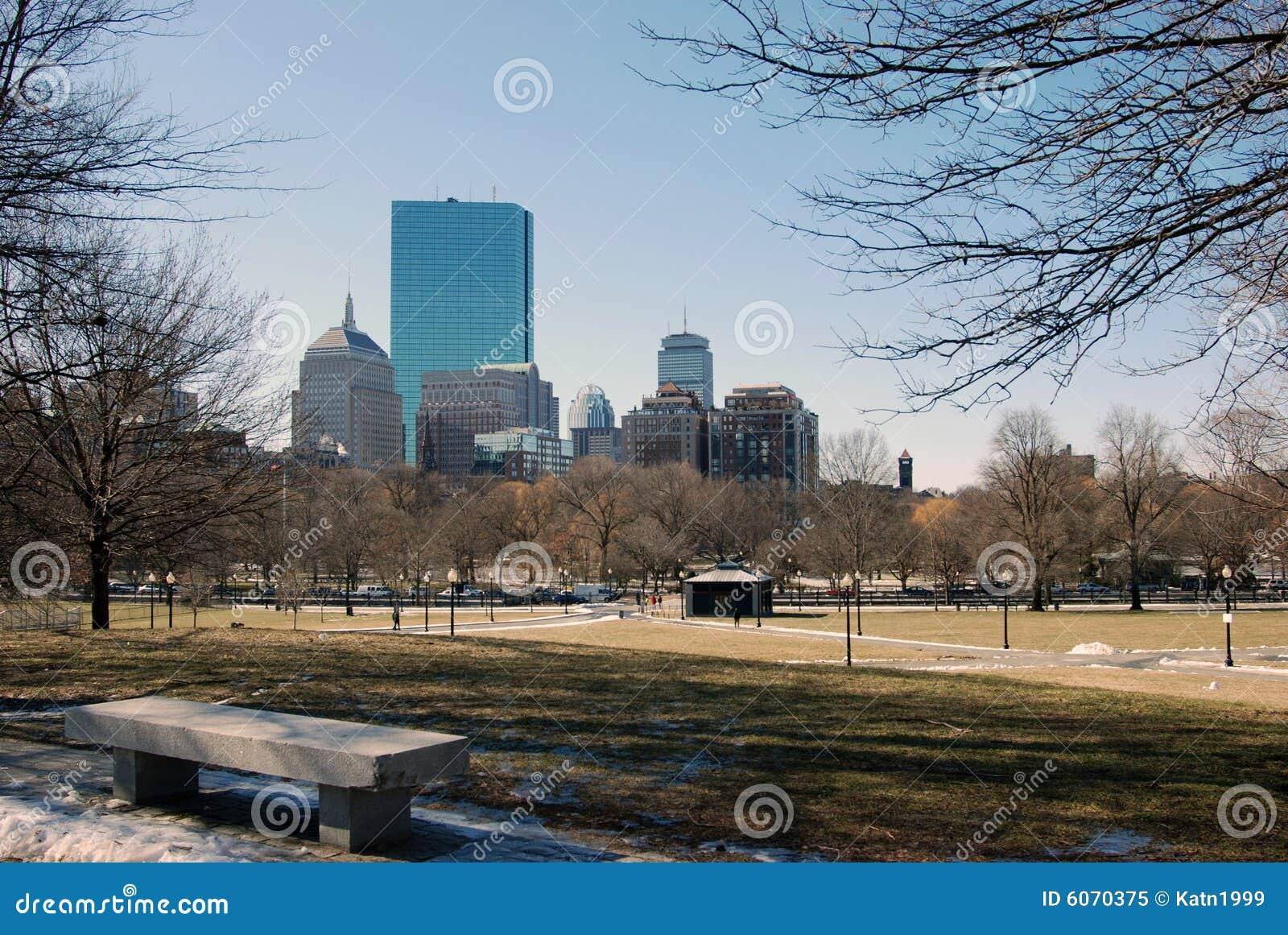 De gebouwen van Boston