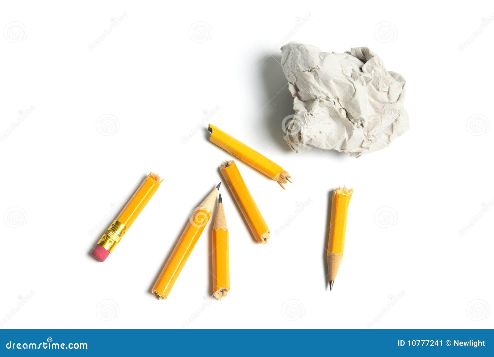 De gebroken Potloden en Bal van het Document