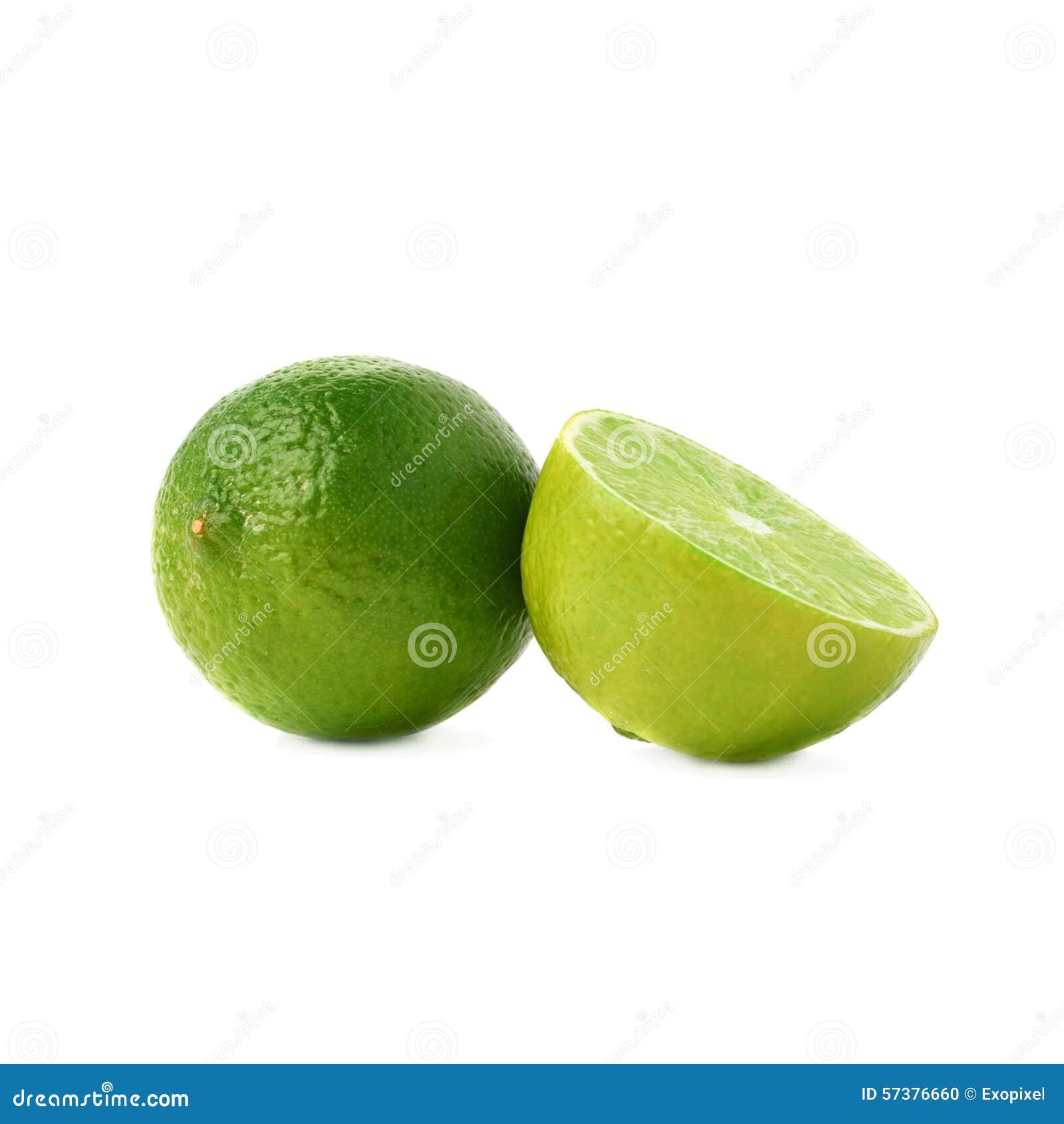 De gediende die samenstelling van het kalkfruit over wordt geïsoleerd