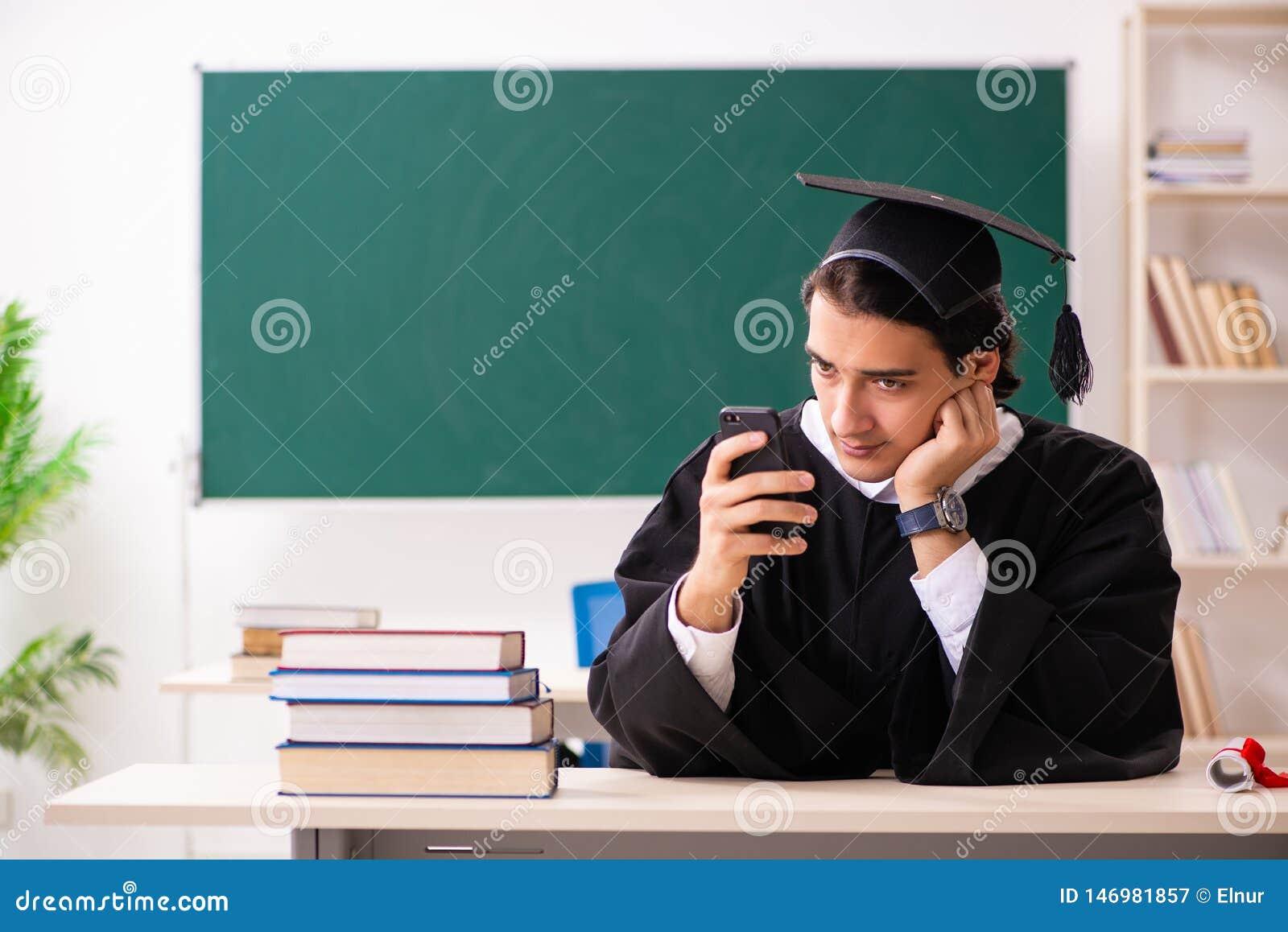 De gediplomeerde student voor groene raad