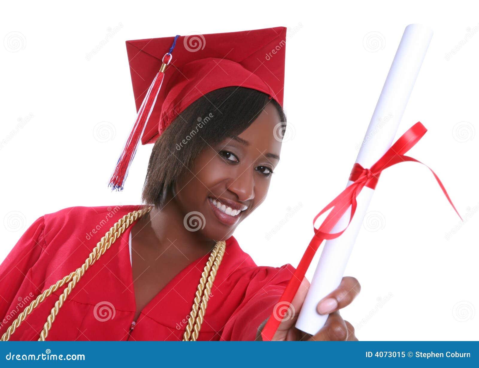 De Gediplomeerde van de vrouw