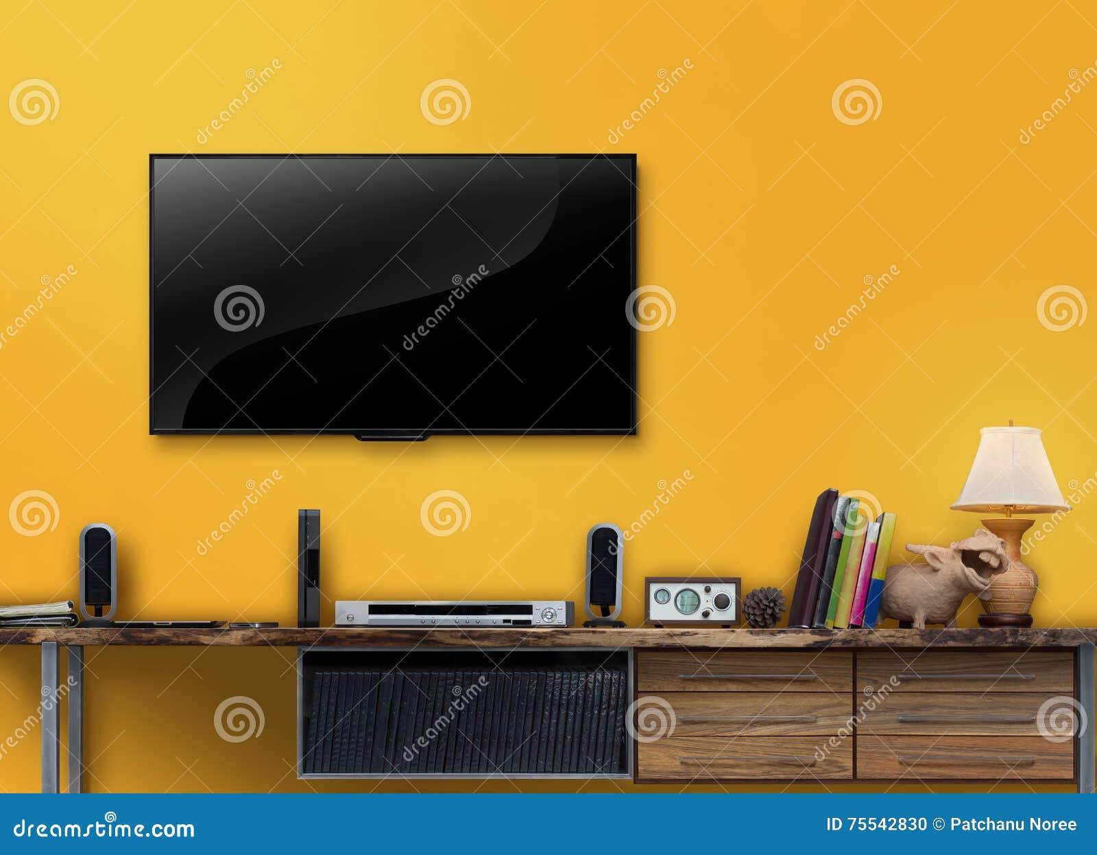 Tv In Muur : Custom moderne mode decoratieve schilderkunst foto muur behang