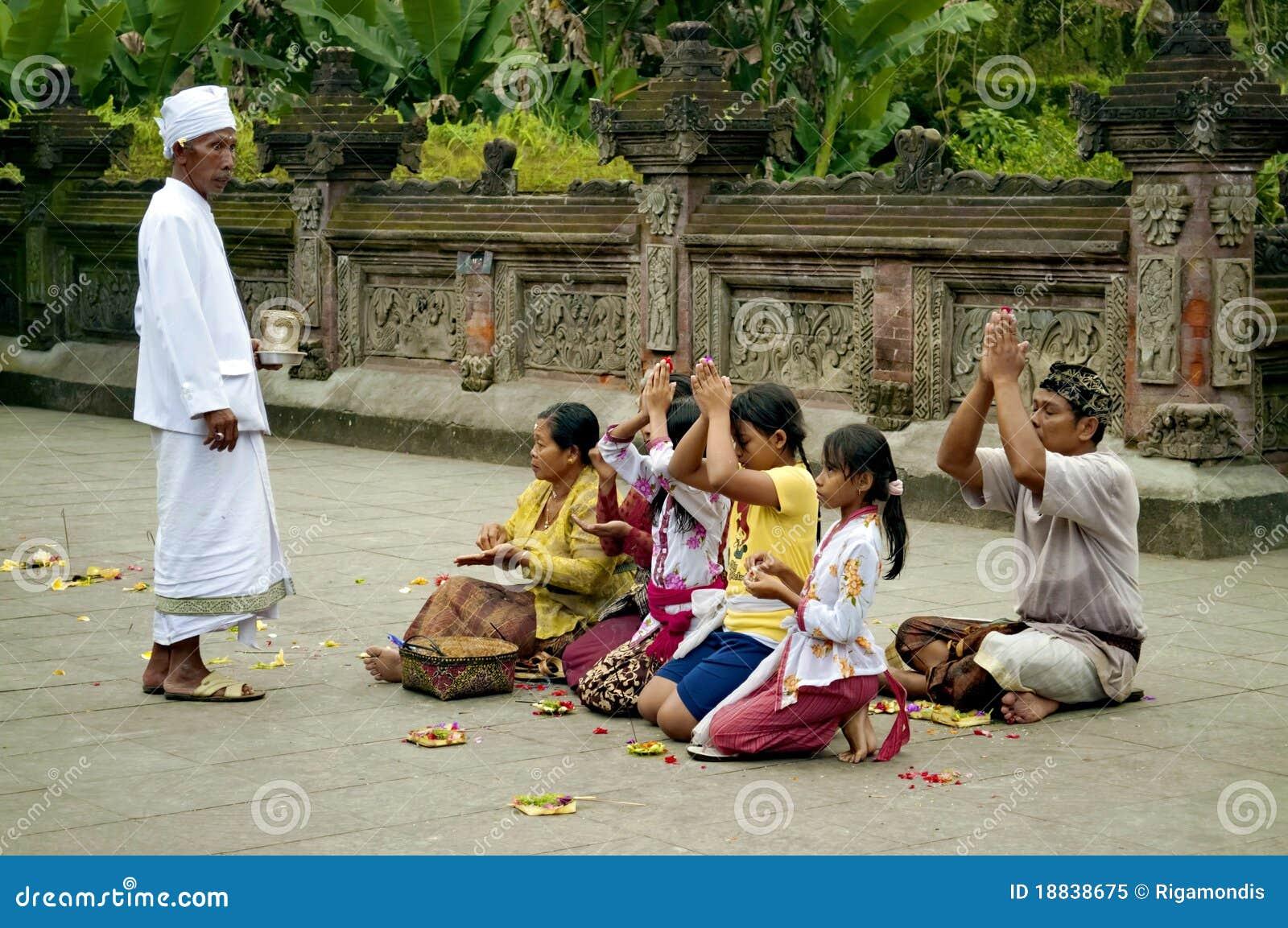 De gelovige Mensen van het Gebed