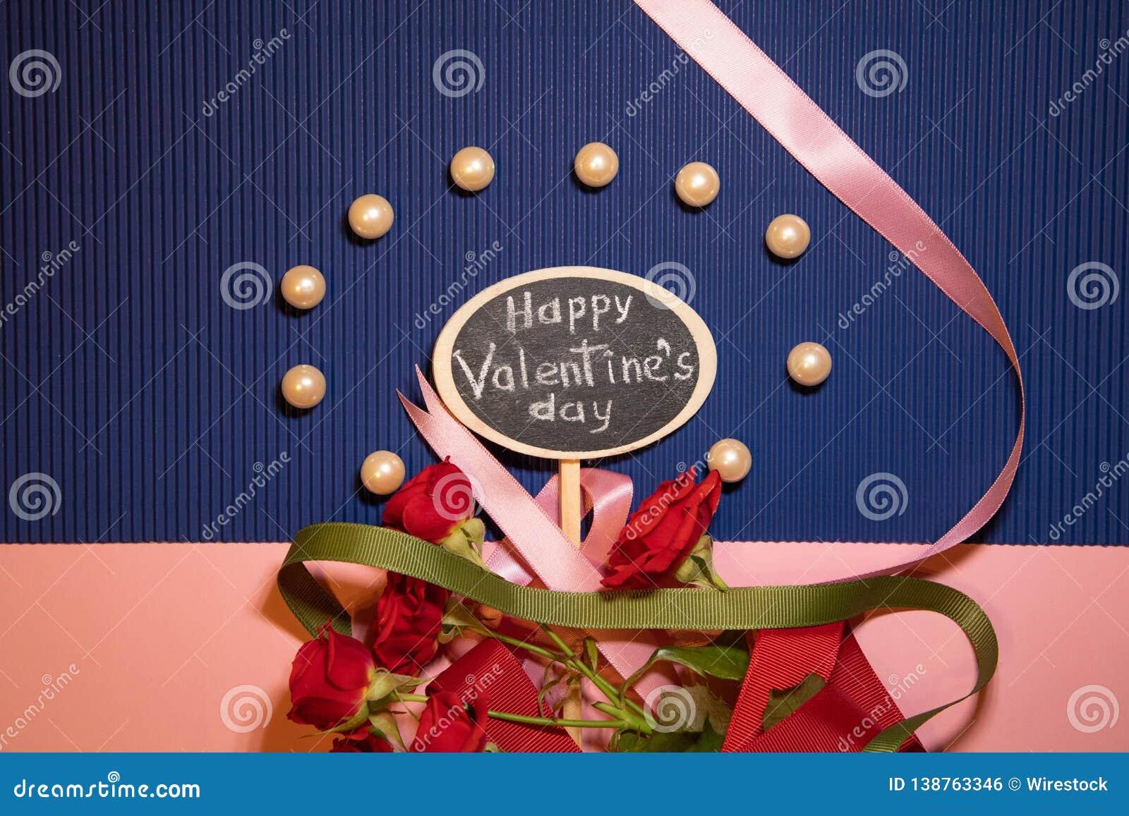 De gelukkige Dag van de Valentijnskaart `s