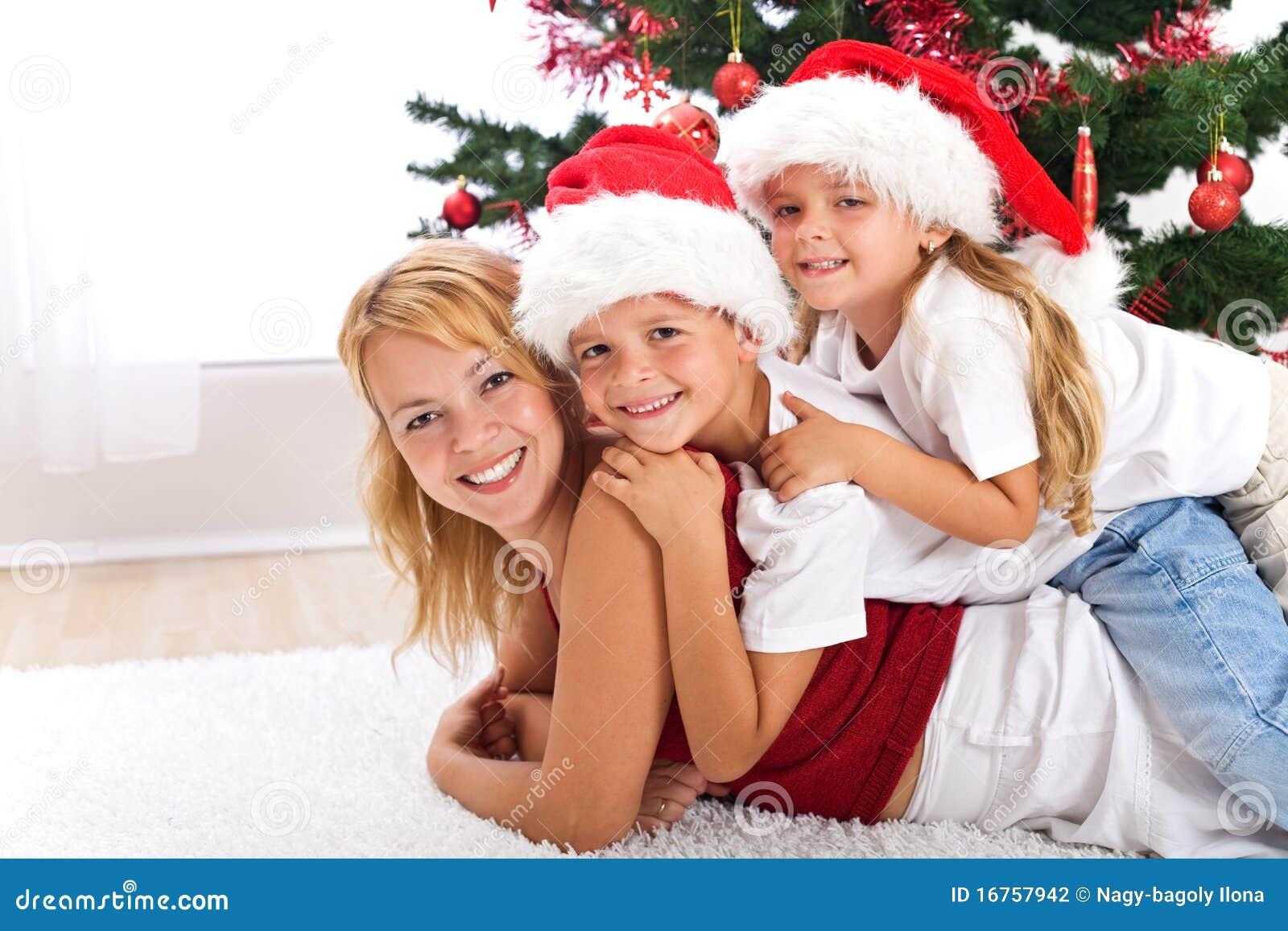 De gelukkige hoop van Kerstmismensen
