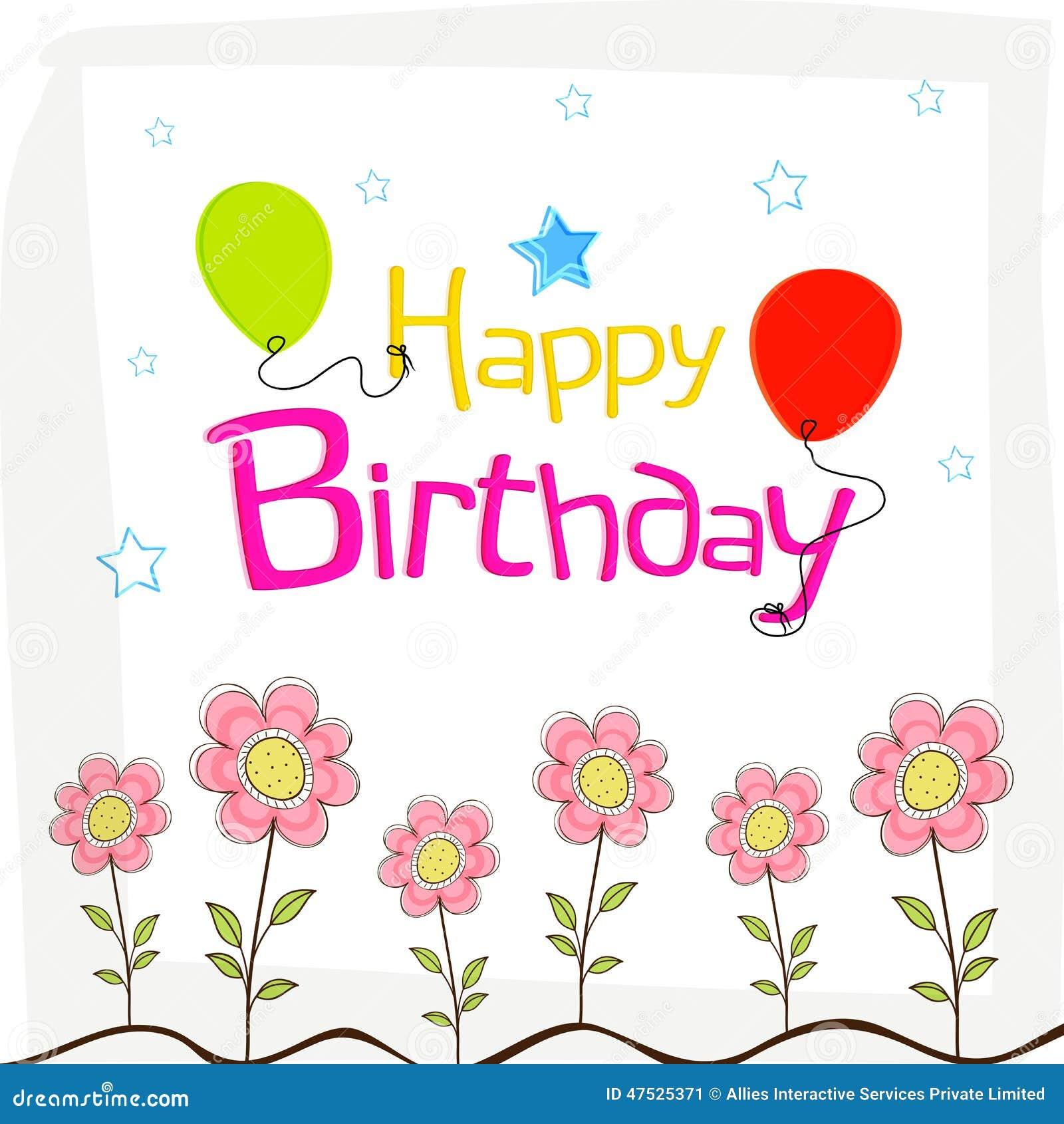 De gelukkige verjaardag wenst afficheontwerp met decoratie for Decoratie verjaardag