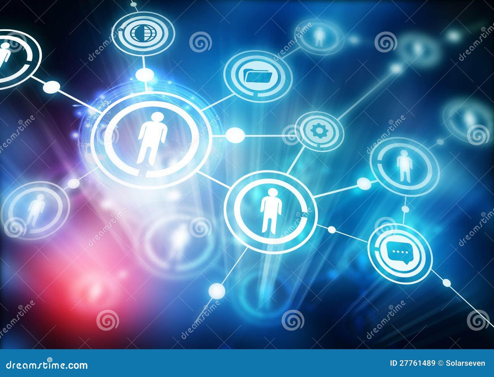 De Gemeenschap van het netwerk