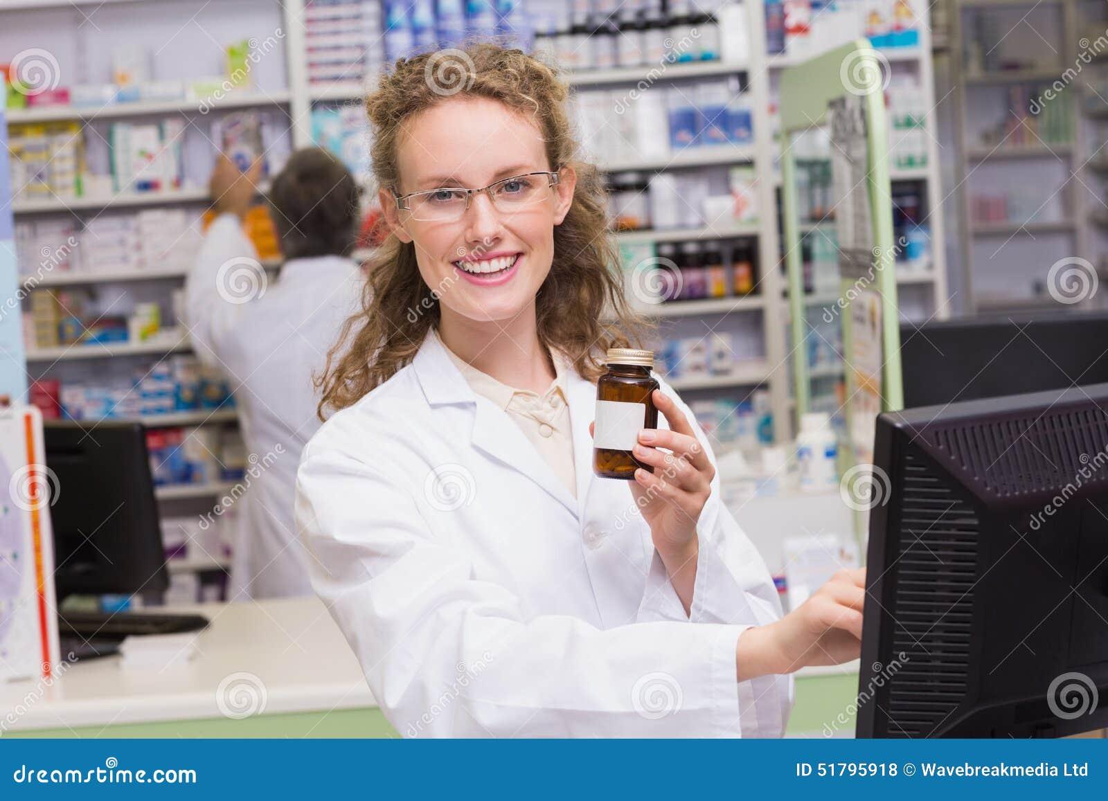 De geneeskundefles van de apothekerholding