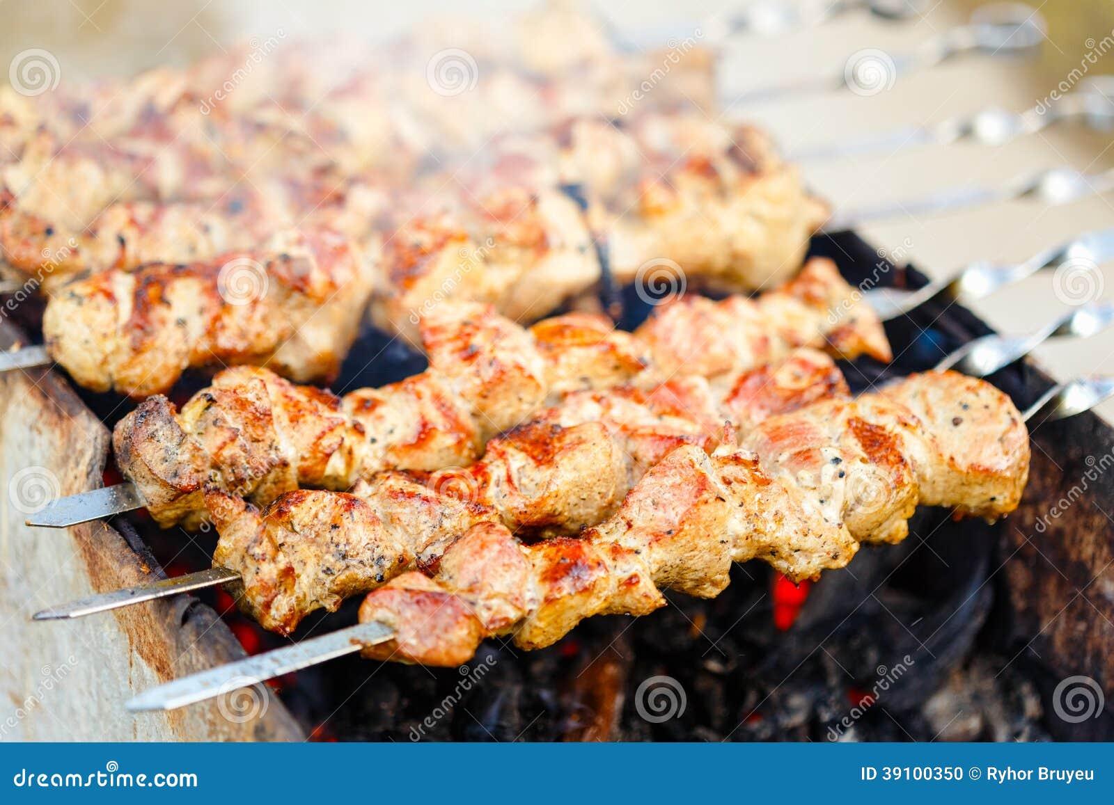 De geroosterde barbecue van de Kaukasus