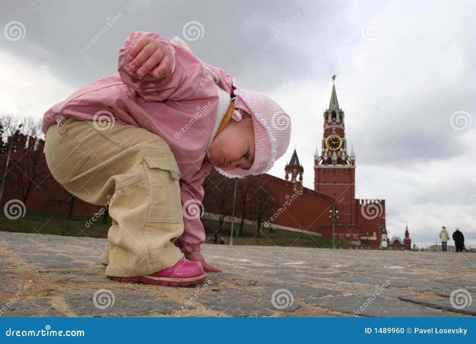 De geschiedenis van de aanraking van Moskou