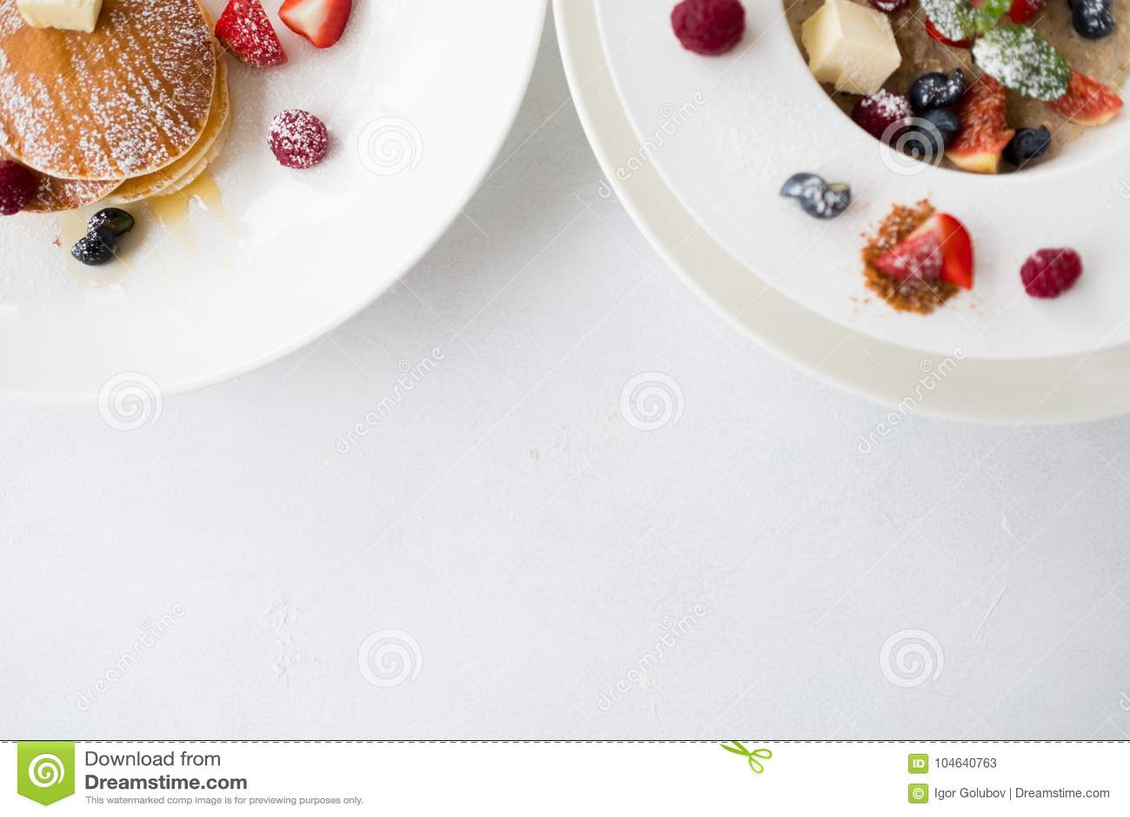 Download De Gezonde Juiste Voeding Van Ontbijtmuesli Stock Afbeelding - Afbeelding bestaande uit vers, geschiktheid: 104640763