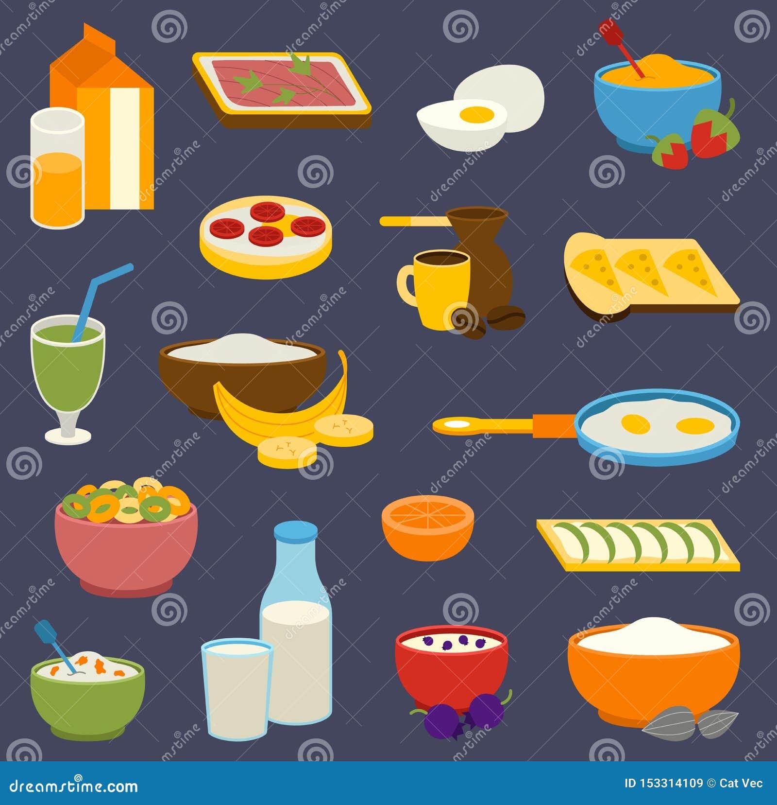 De gezonde de prote?nenvetten van het voedingsontbijt, koolhydraten brachten het dagelijkse dieet van de sportochtend, culinair i