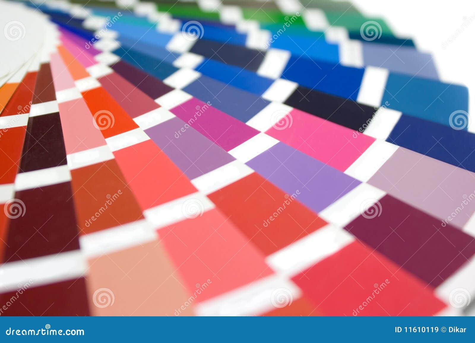 De gids van de kleur stock afbeelding afbeelding bestaande uit monster 11610119 - Grafiek blauw grijze verf ...
