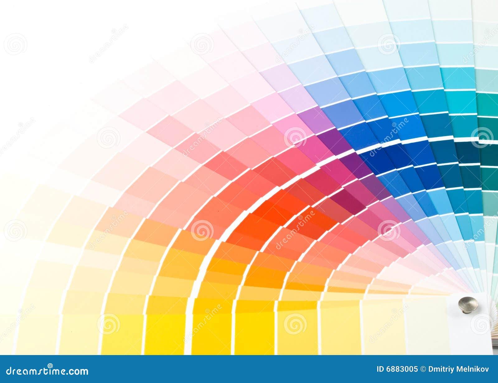 De gids van de kleur.