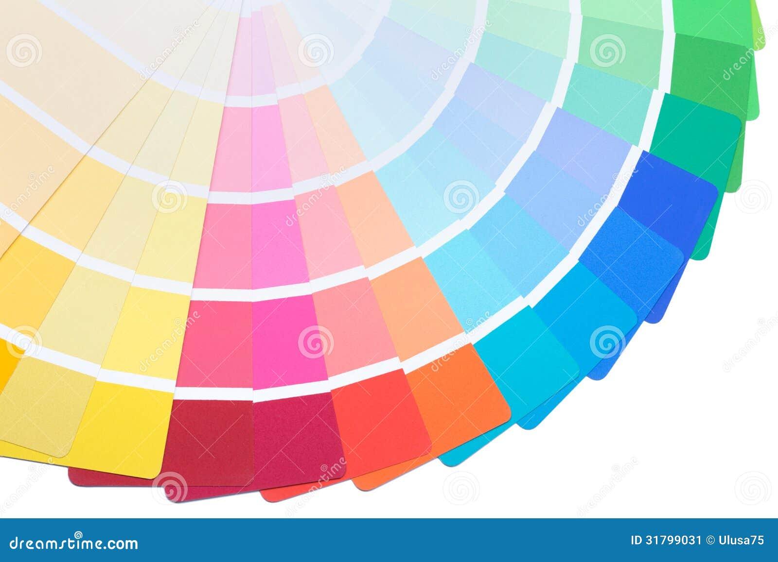 De gids van het kleurenpalet