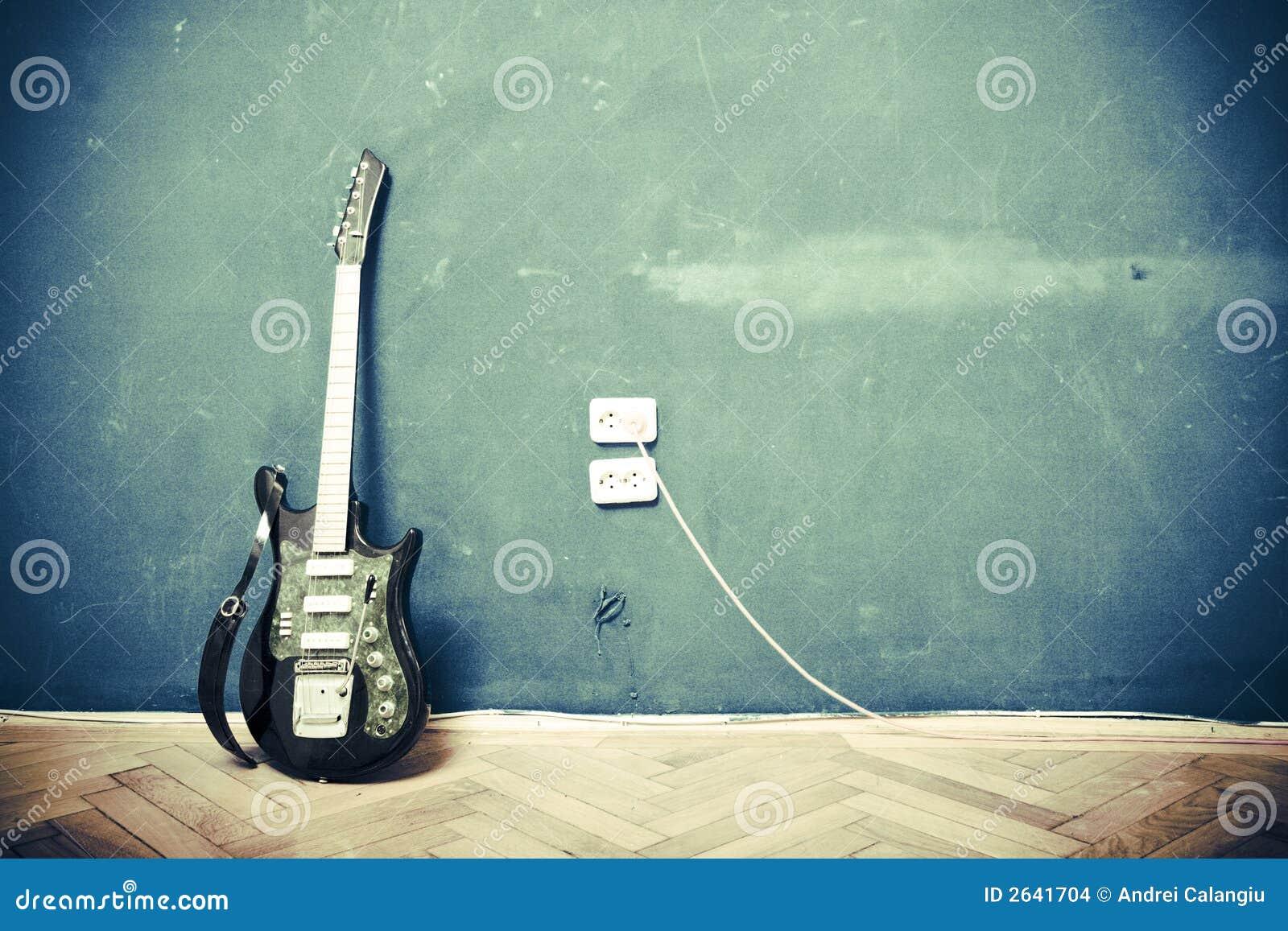 De gitaar van Grunge