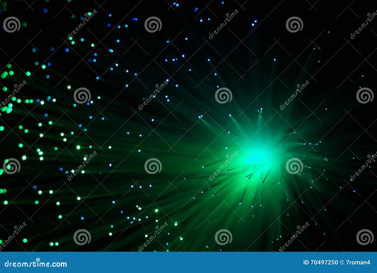 De Glasvezel Van De Kleurenlamp Stock Foto - Afbeelding bestaande ...