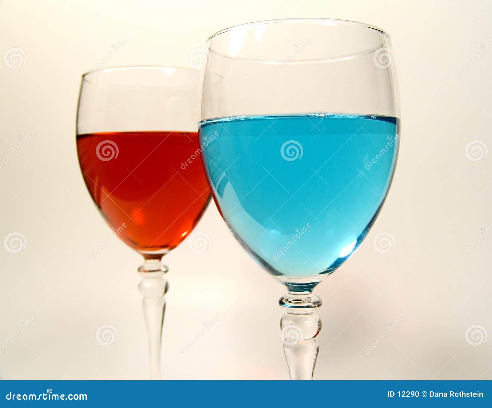 De Glazen van de wijn