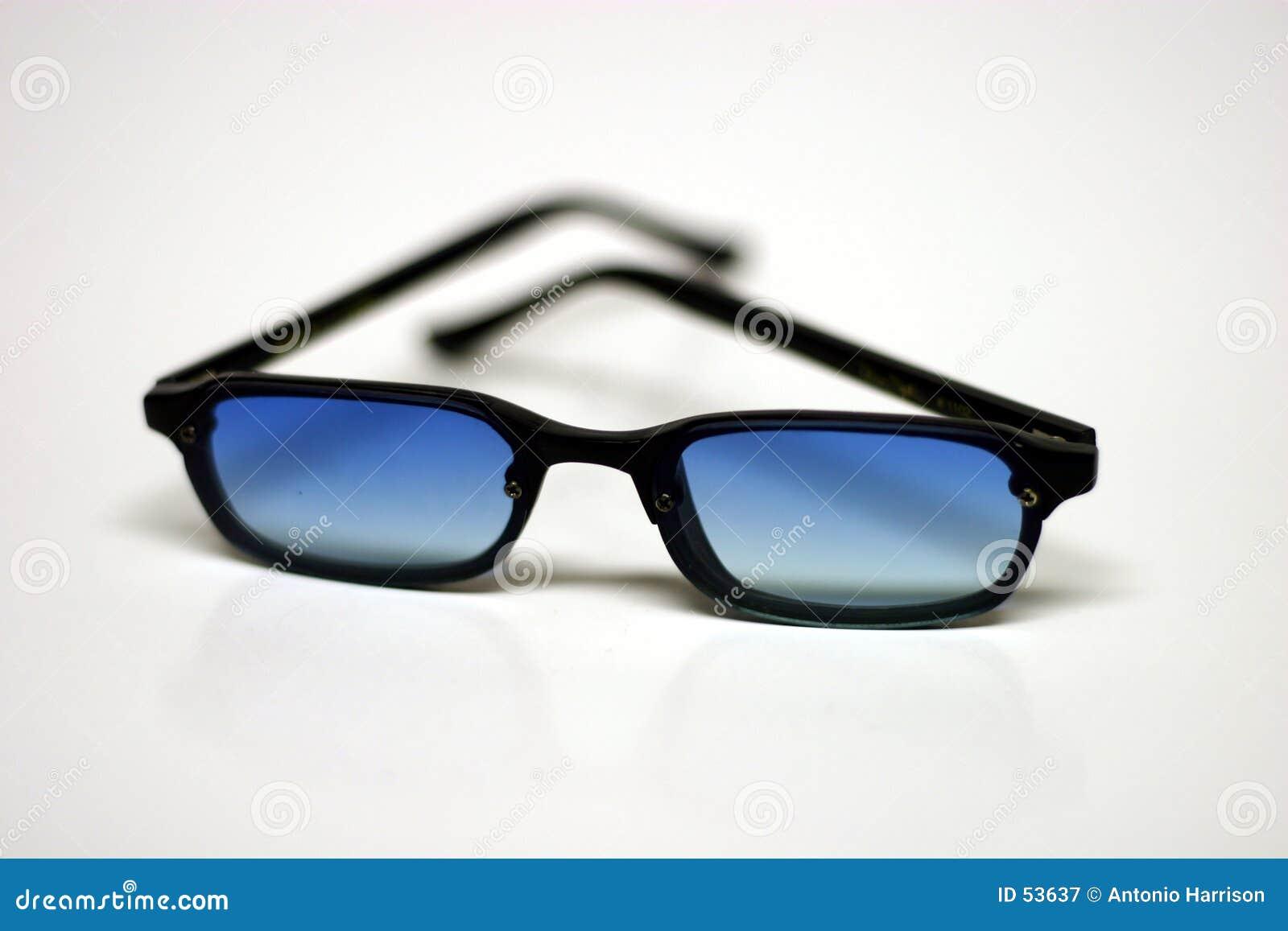 De glazen van de zon