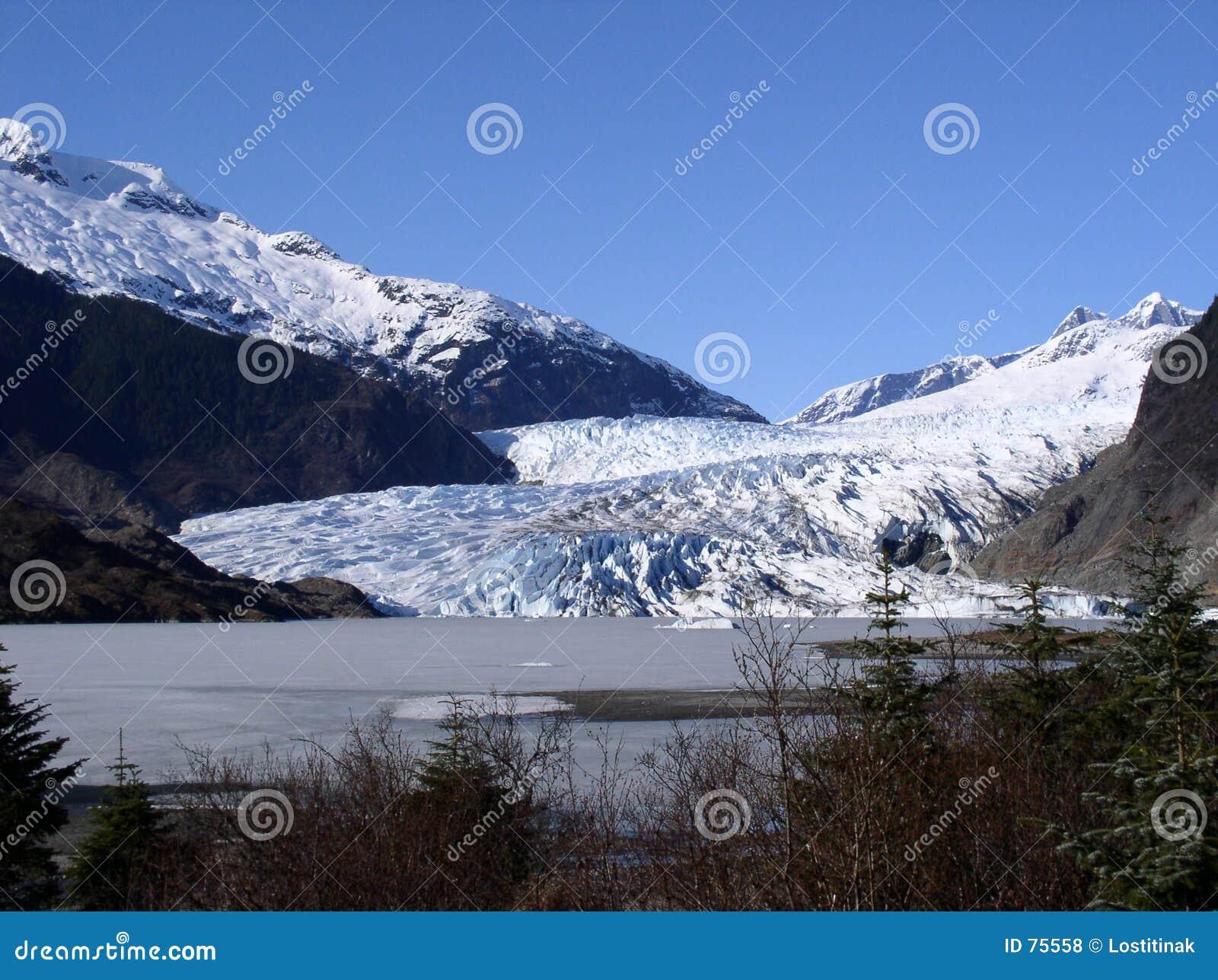 De Gletsjer van Alaska