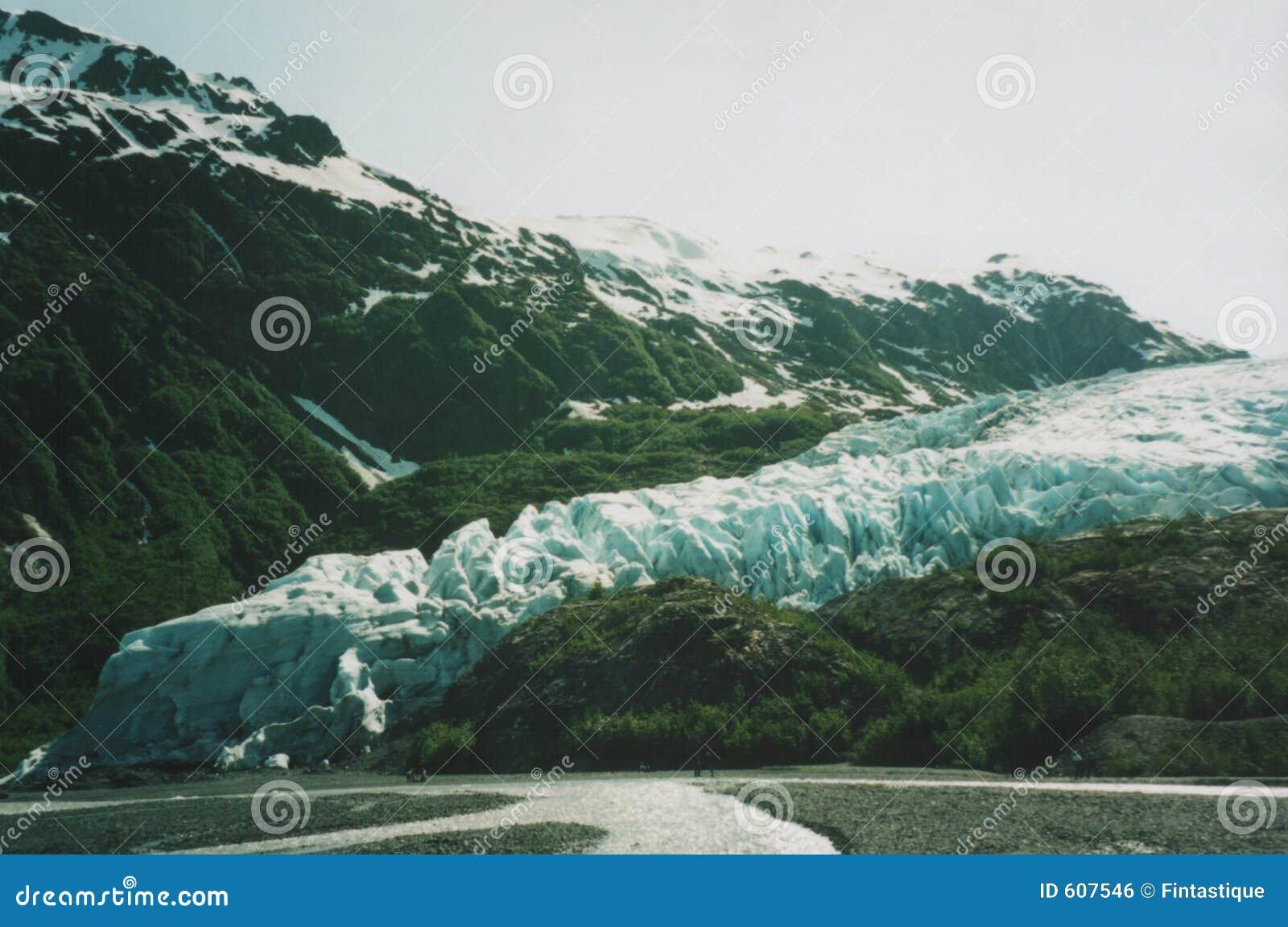 De Gletsjer van de uitgang, Alaska