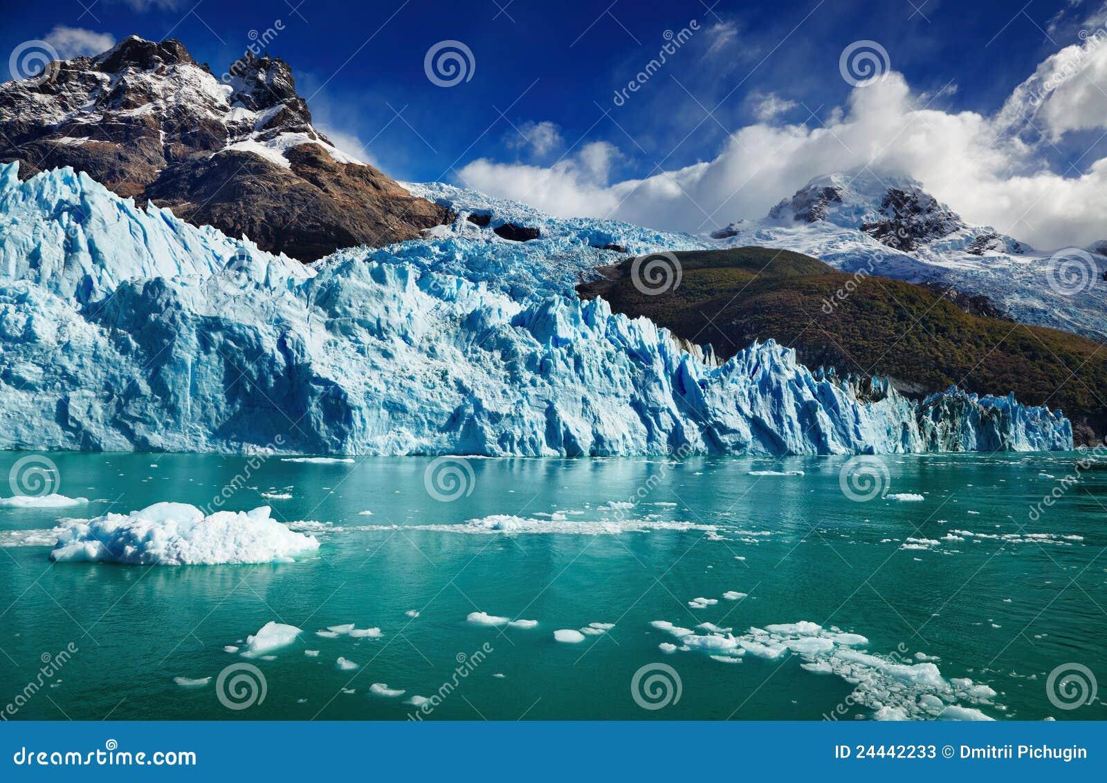 De Gletsjer van Spegazzini, Argentinië