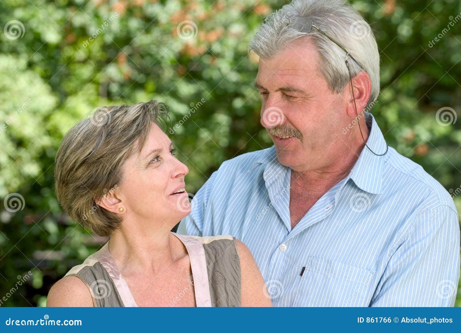 De glimlach van het paar