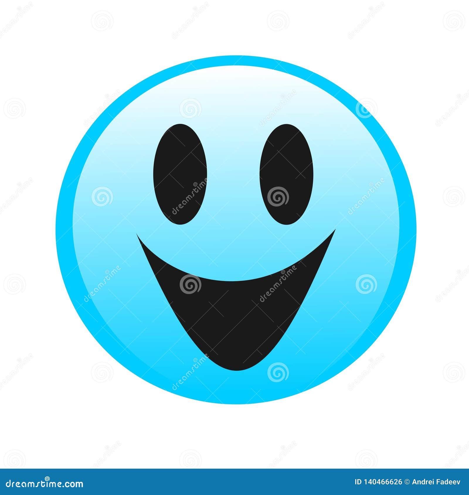 De glimlach van het tekeningsembleem