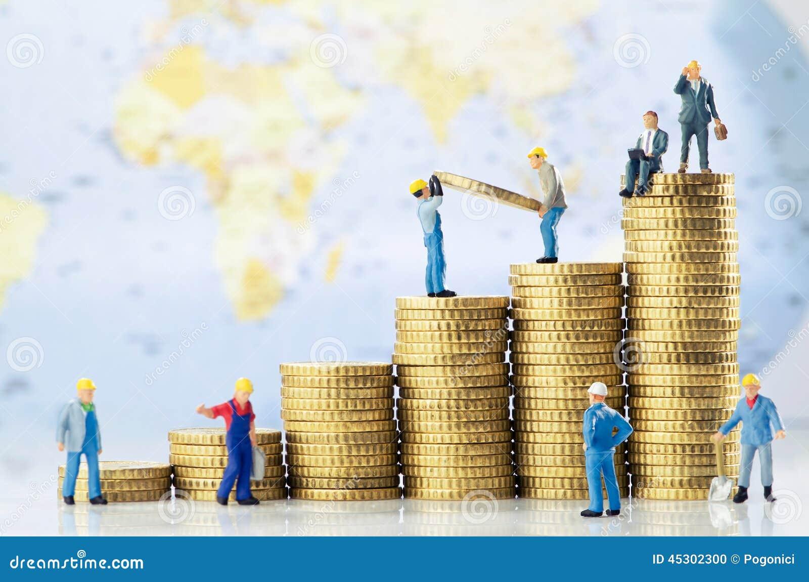 De globale bedrijfsgroei