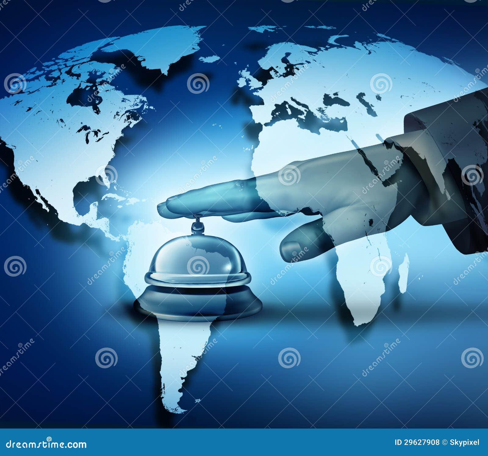 De globale Dienst van het Hotel