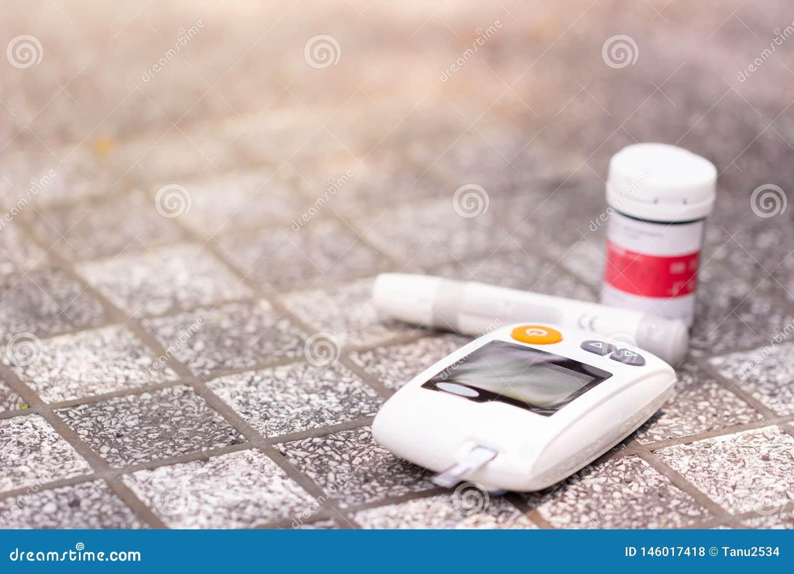 De glucosemeter van het bloed