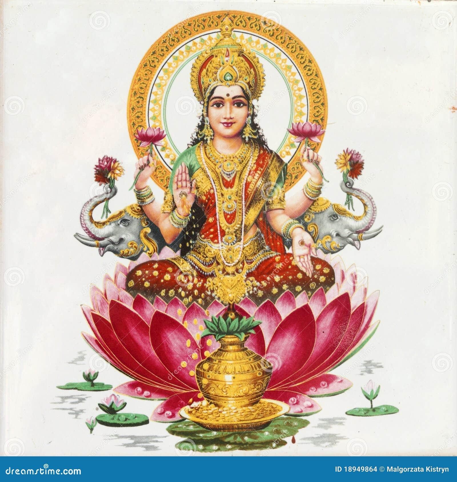 De godin van Lakshmi