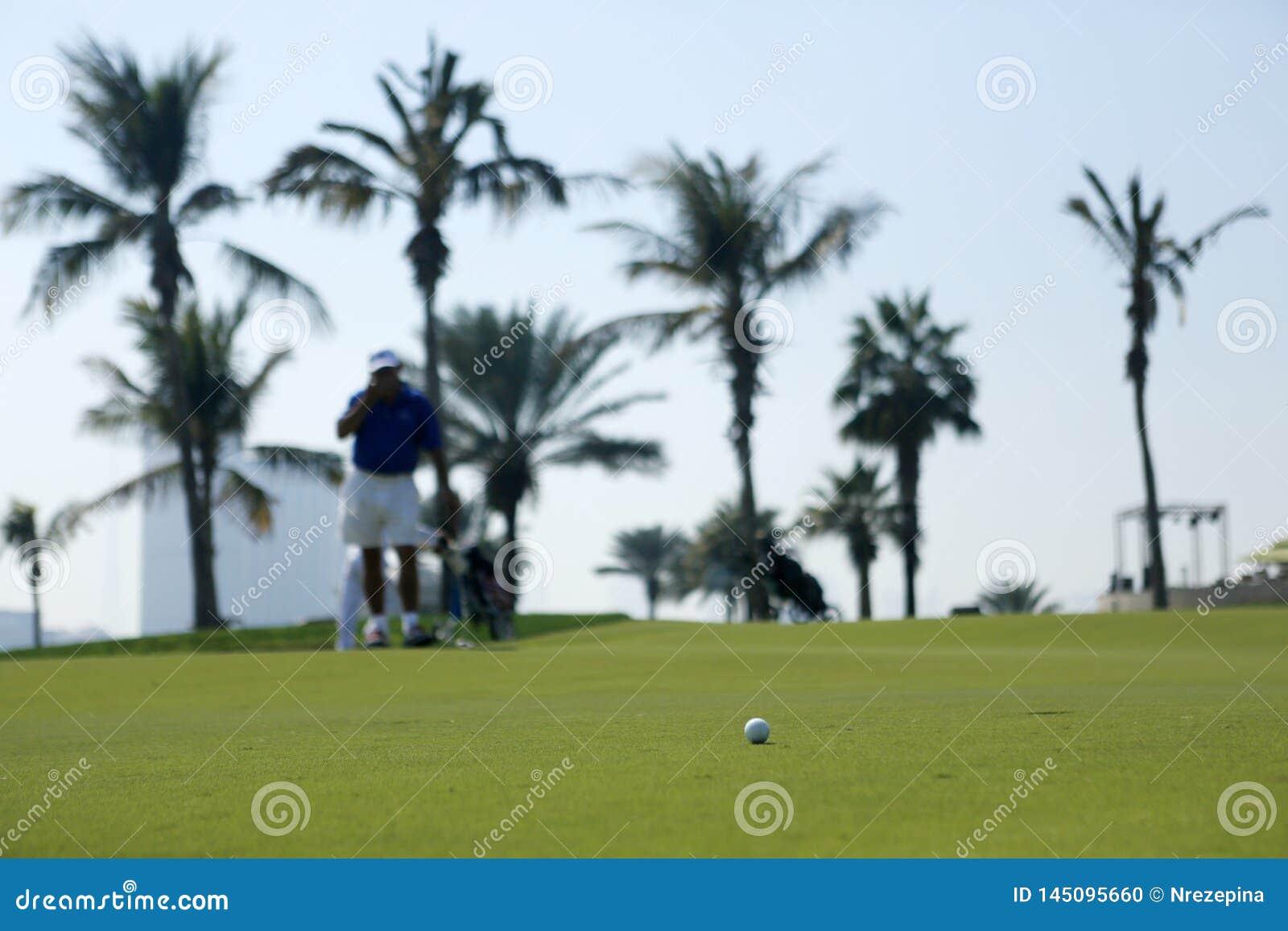 De golfcursus in Doubai