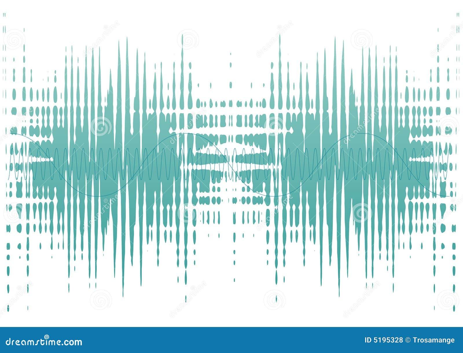 De golven van het lawaai