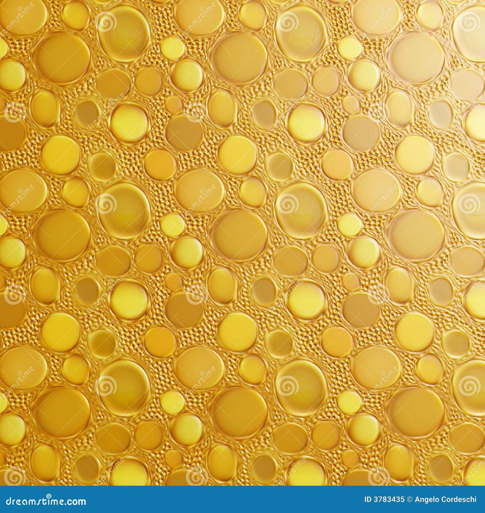 De gouden Achtergrond van Dalingen