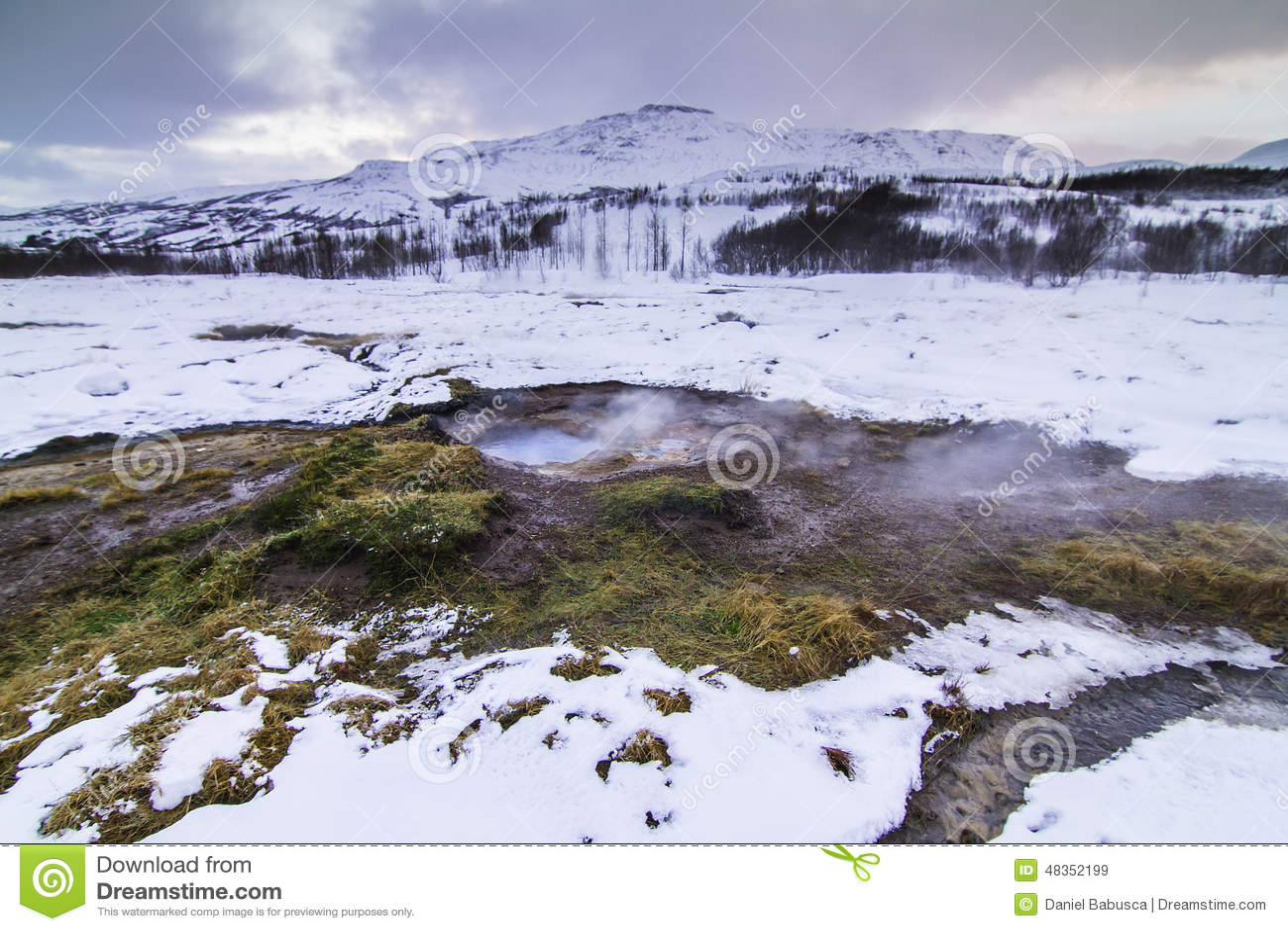 De Gouden Cirkel in IJsland tijdens de winter