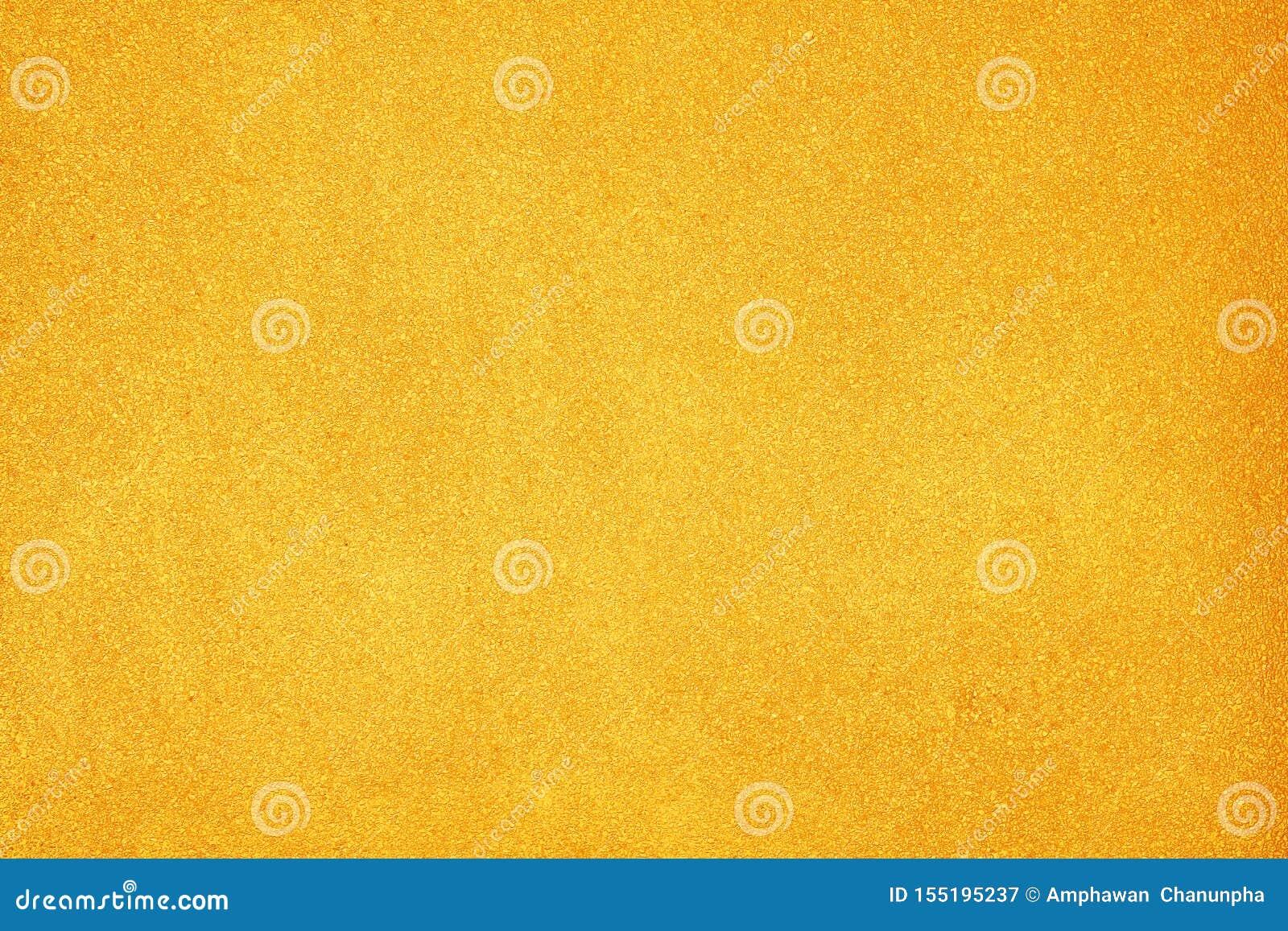 De gouden concrete patronen van de muur abstracte, kleurrijke ruwe textuur voor achtergrond