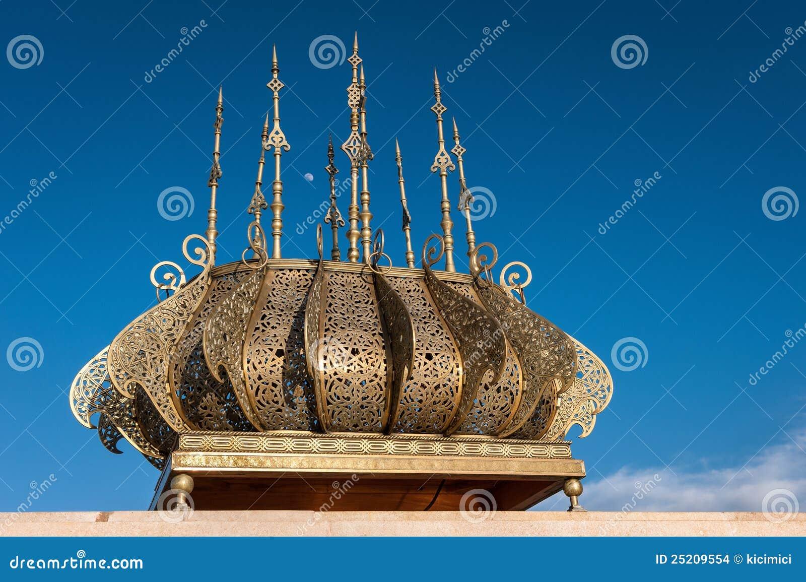 De gouden decoratie rabat marokko van hassan van de reis stock afbeeldingen afbeelding 25209554 - Decoratie van de villas ...
